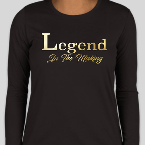 "Ladies Plus Size ""Legend"" Tee - Available in short sleeve and hoodie"