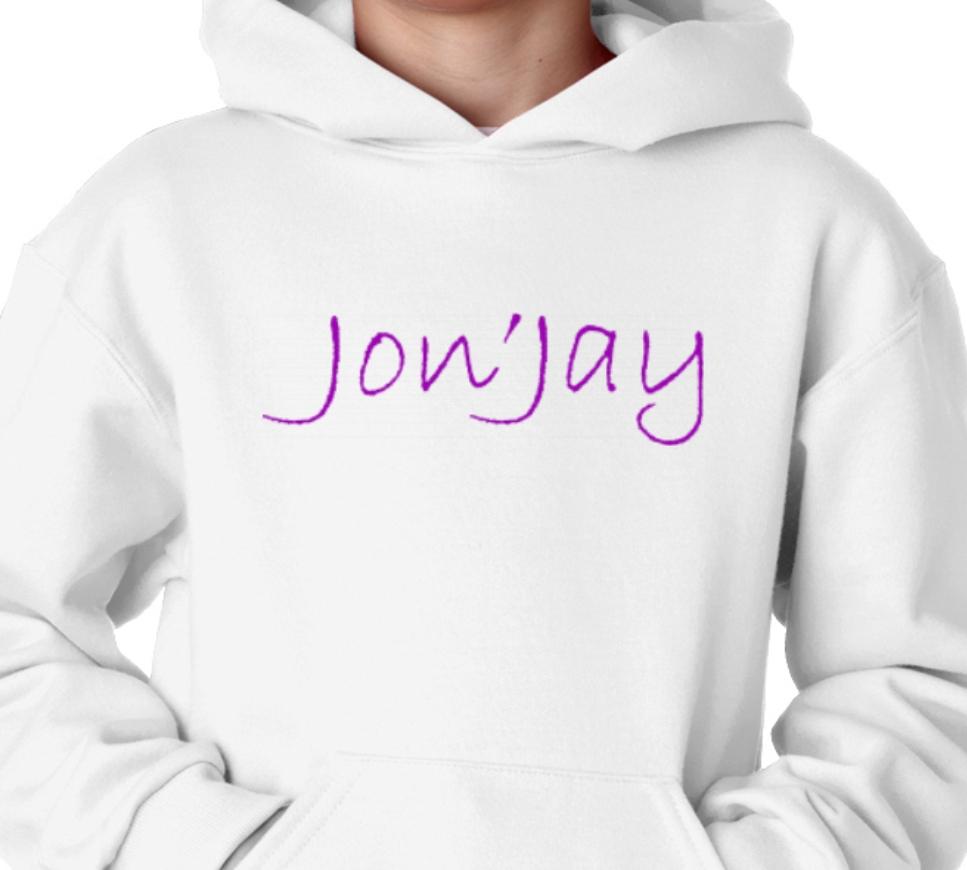 Jon'Jay White Hoodie