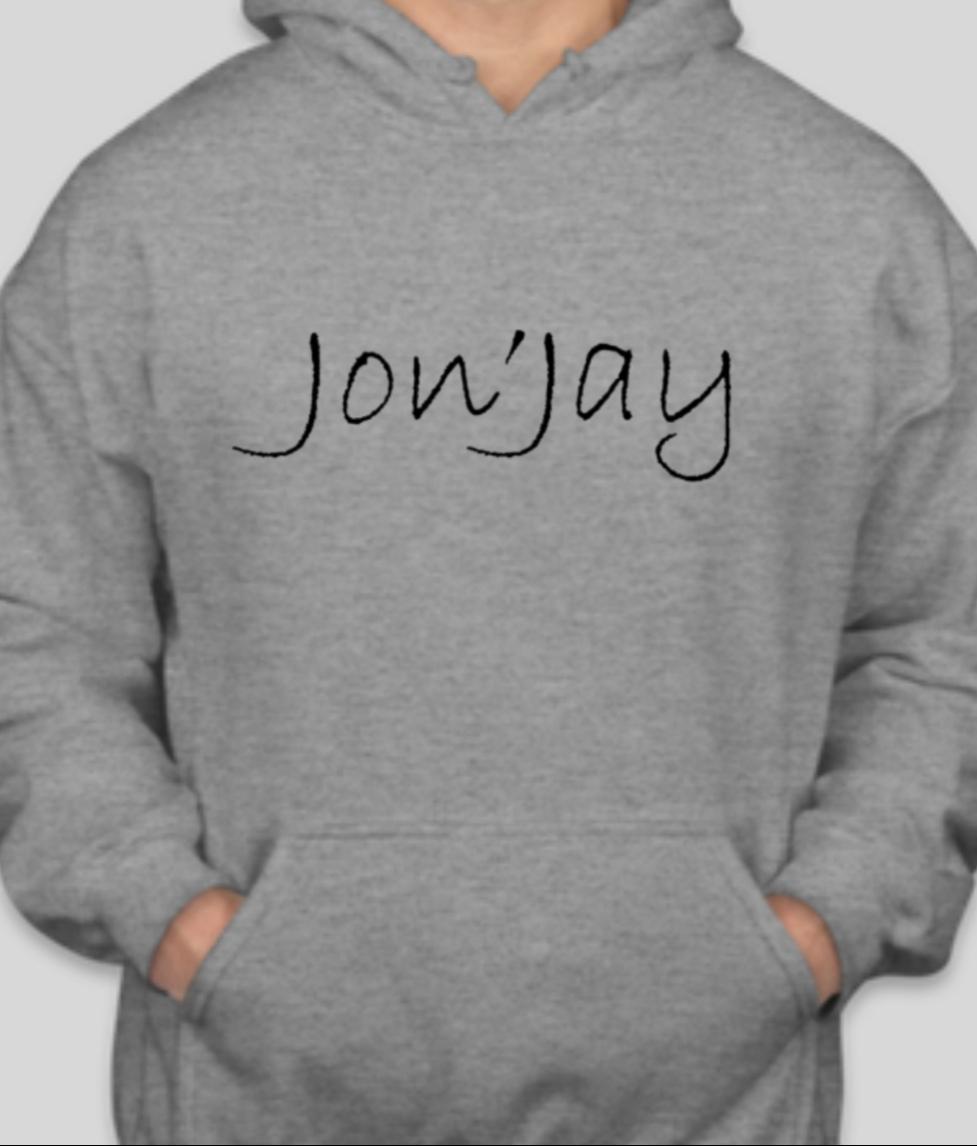 Jon'Jay gray hoodie
