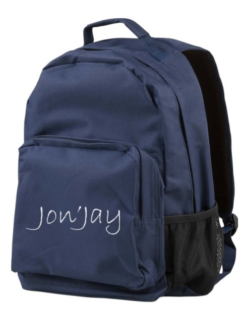 Jon'Jay Navy Blue Commuter Backpack
