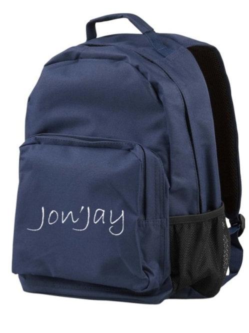 Jon'Jay Navy Commuter Backpack