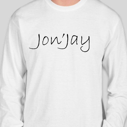 Men's long sleeve Jon'Jay tee