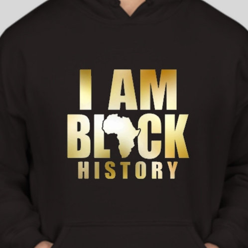 "Jon'Jay B&T ""History"" Hoodie - Available in long and short sleeve tee"