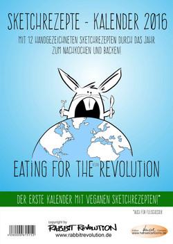Vegan Sketch Kalender