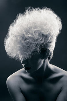 Hair: by me Photographer: Gary Price Model: Mel Slater