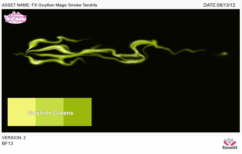 Gwyllion Magic Smoke Tendrils