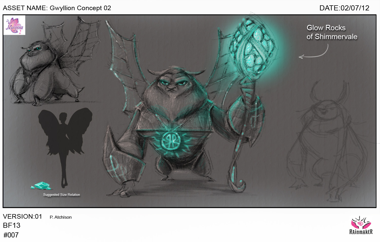 Early Gwillion Concept