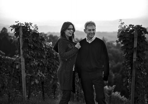 Katharina and father Fritz Tinnacher