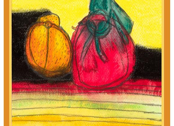 Golden Fruit card