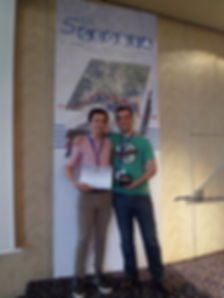 Best poster presentation - GEOBIA 2014