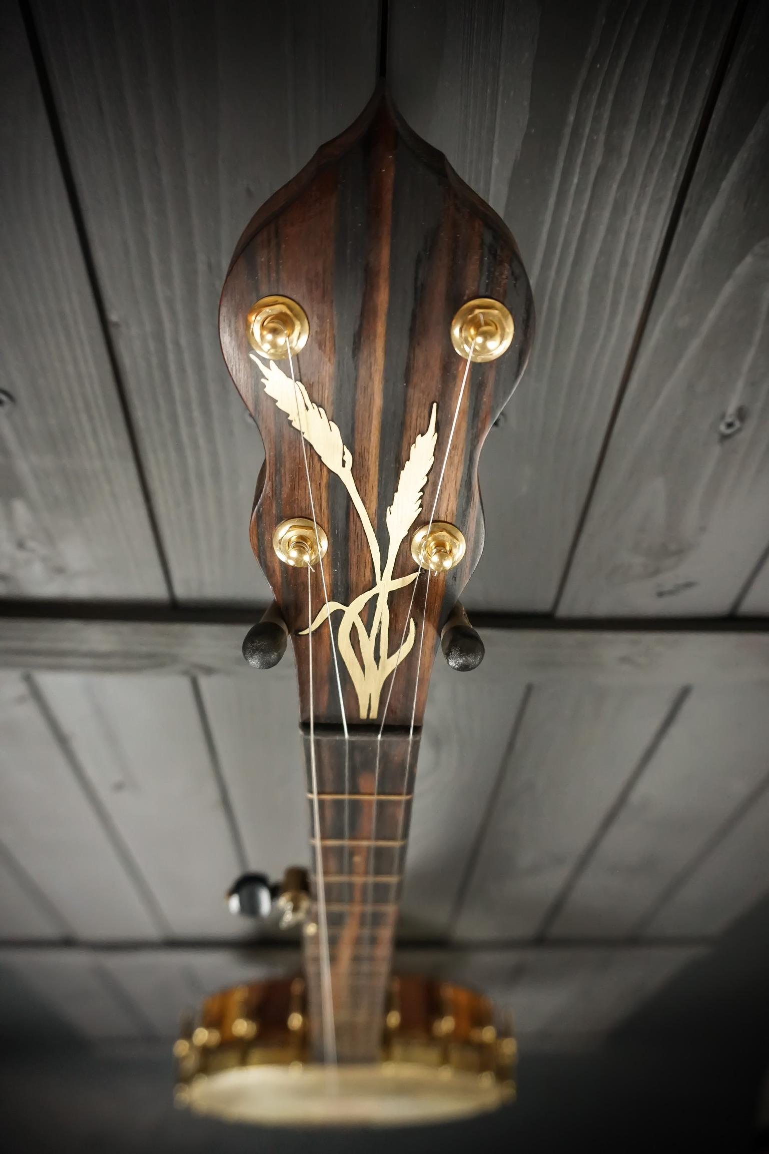 Moonshine Banjo down neck