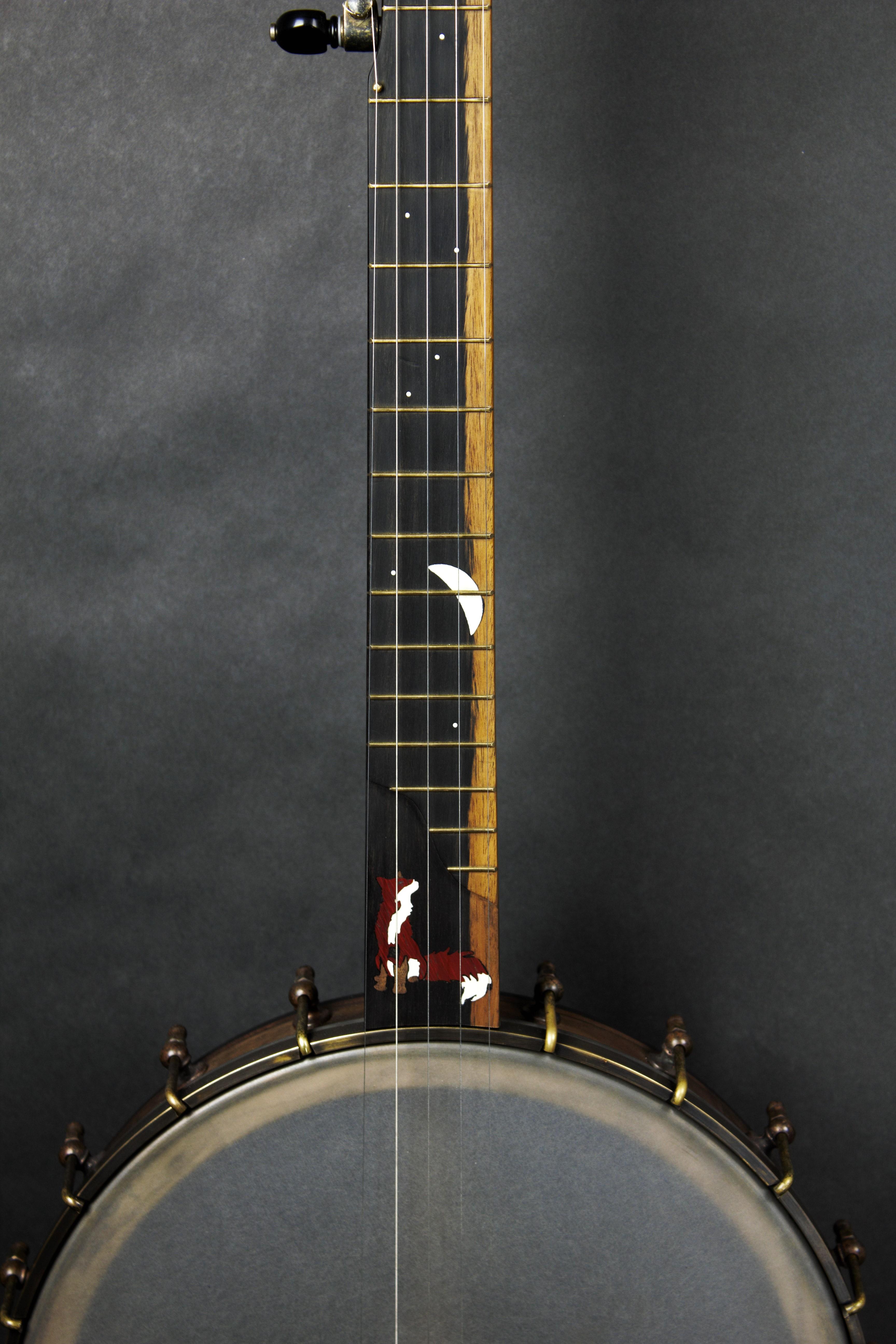 Banjo Inlay - fox