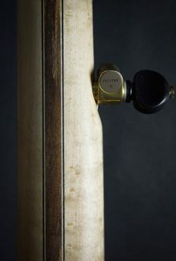 Leaves Banjo Neck Back Detail