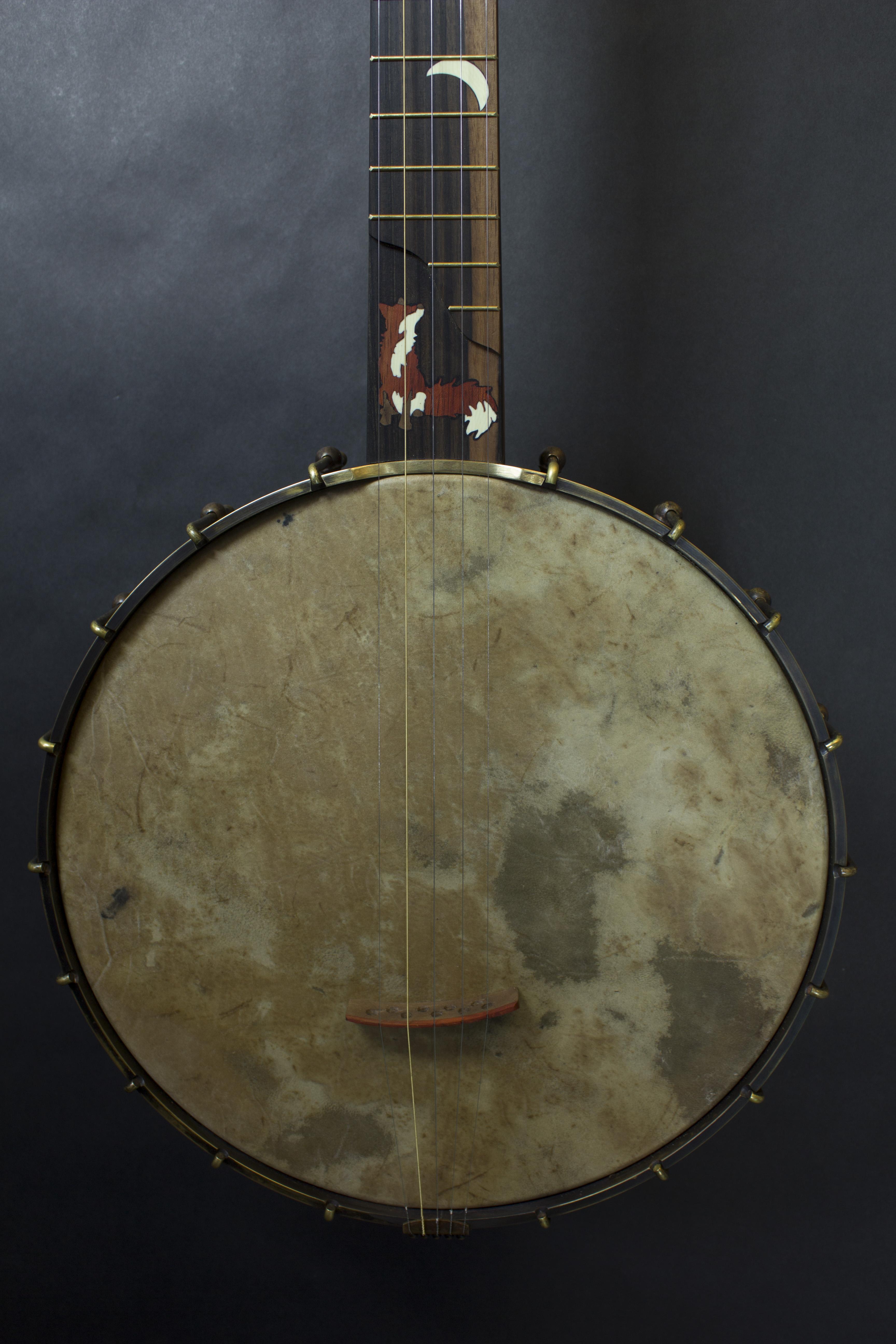 Fox Banjo 2 pot and inlay