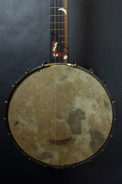 Fox Banjo 2 pot and inlay
