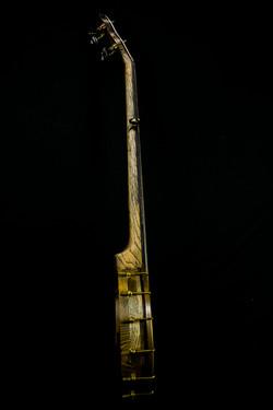 Scrimshaw Banjo - Moby Dick - side