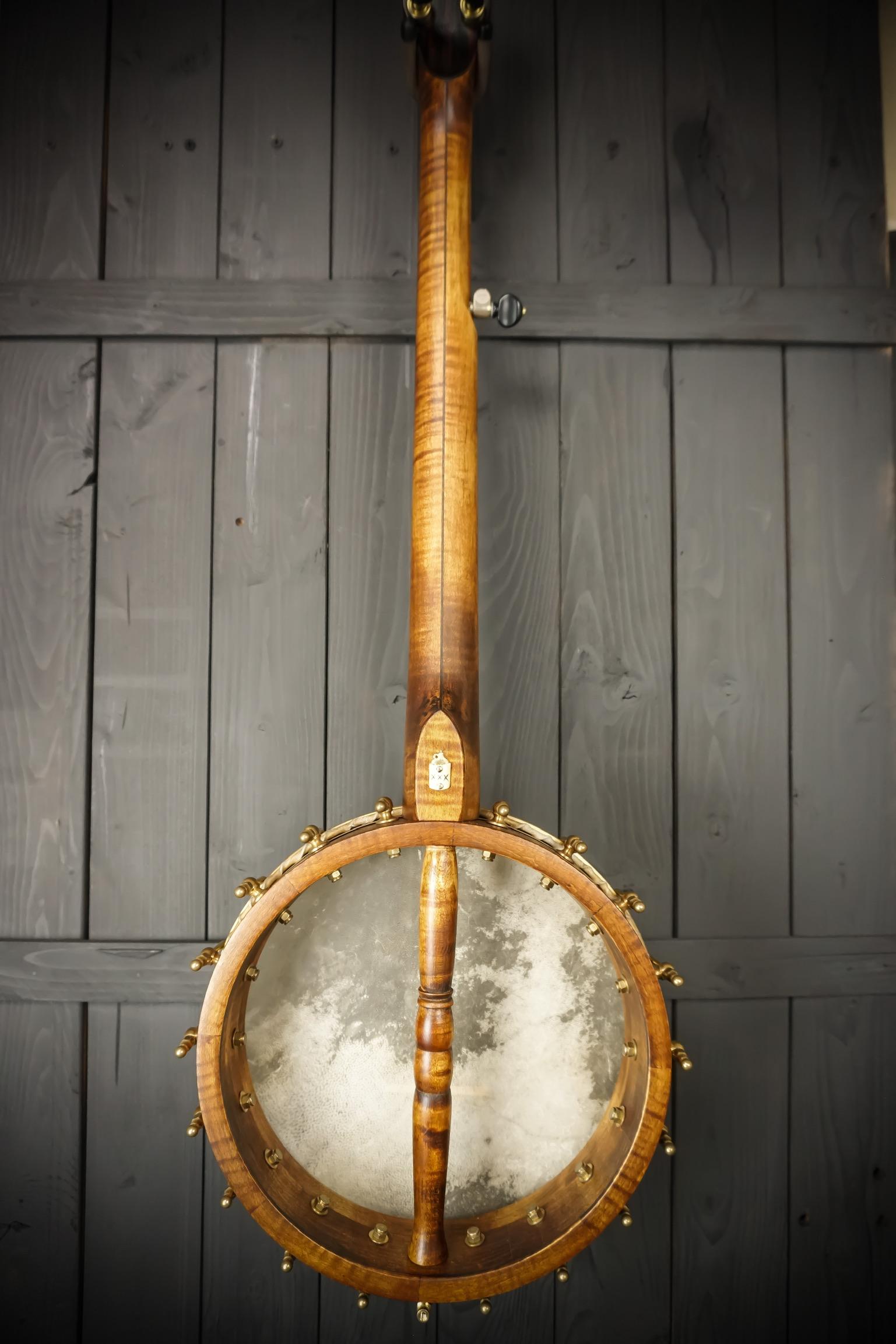 Moonshine Banjo Full Backside