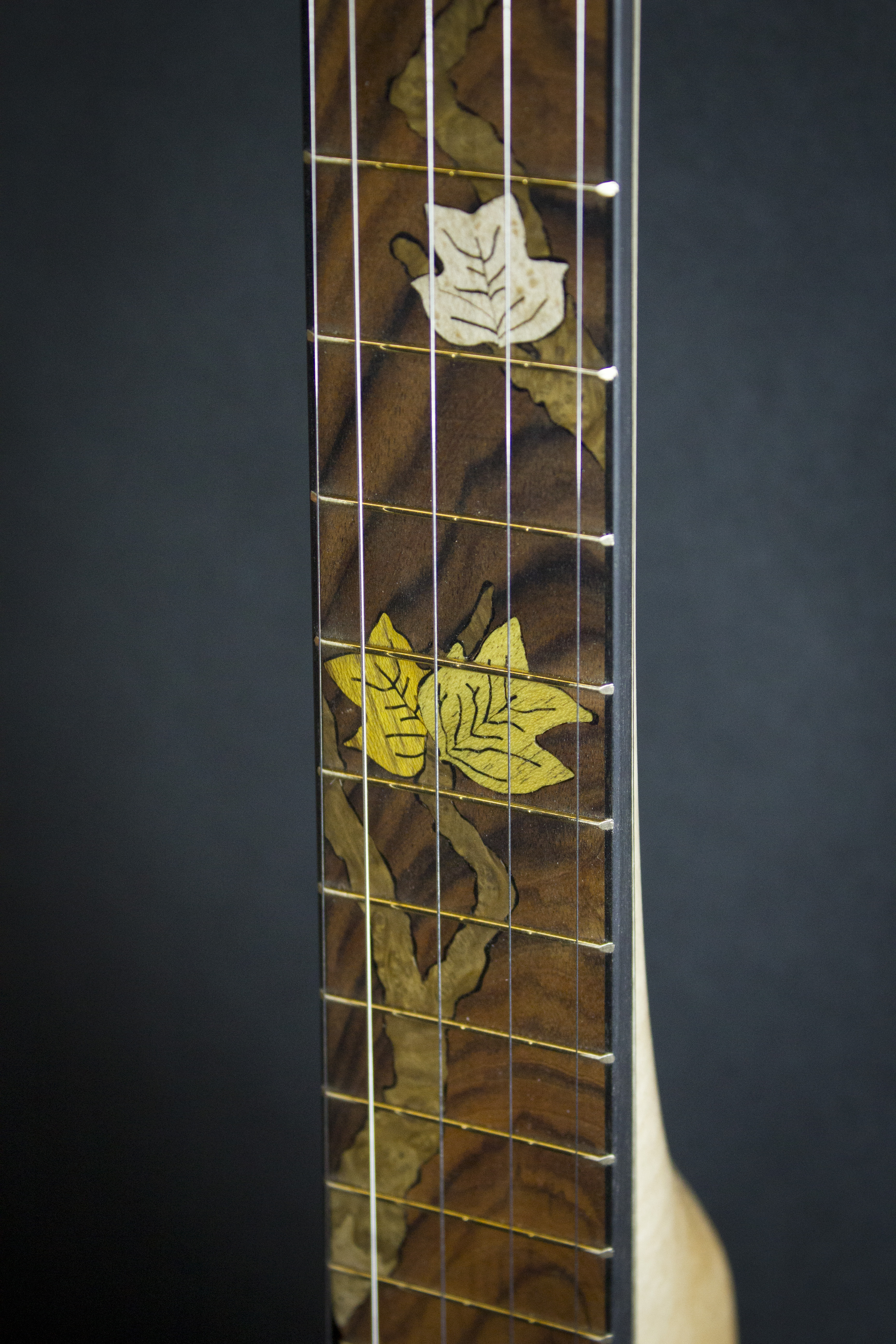 Leaves Banjo Inlay detail1