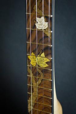 Leaves Banjo Inlay detail1