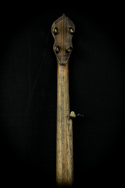 Scrimshaw Banjo - Moby Dick - Neck B