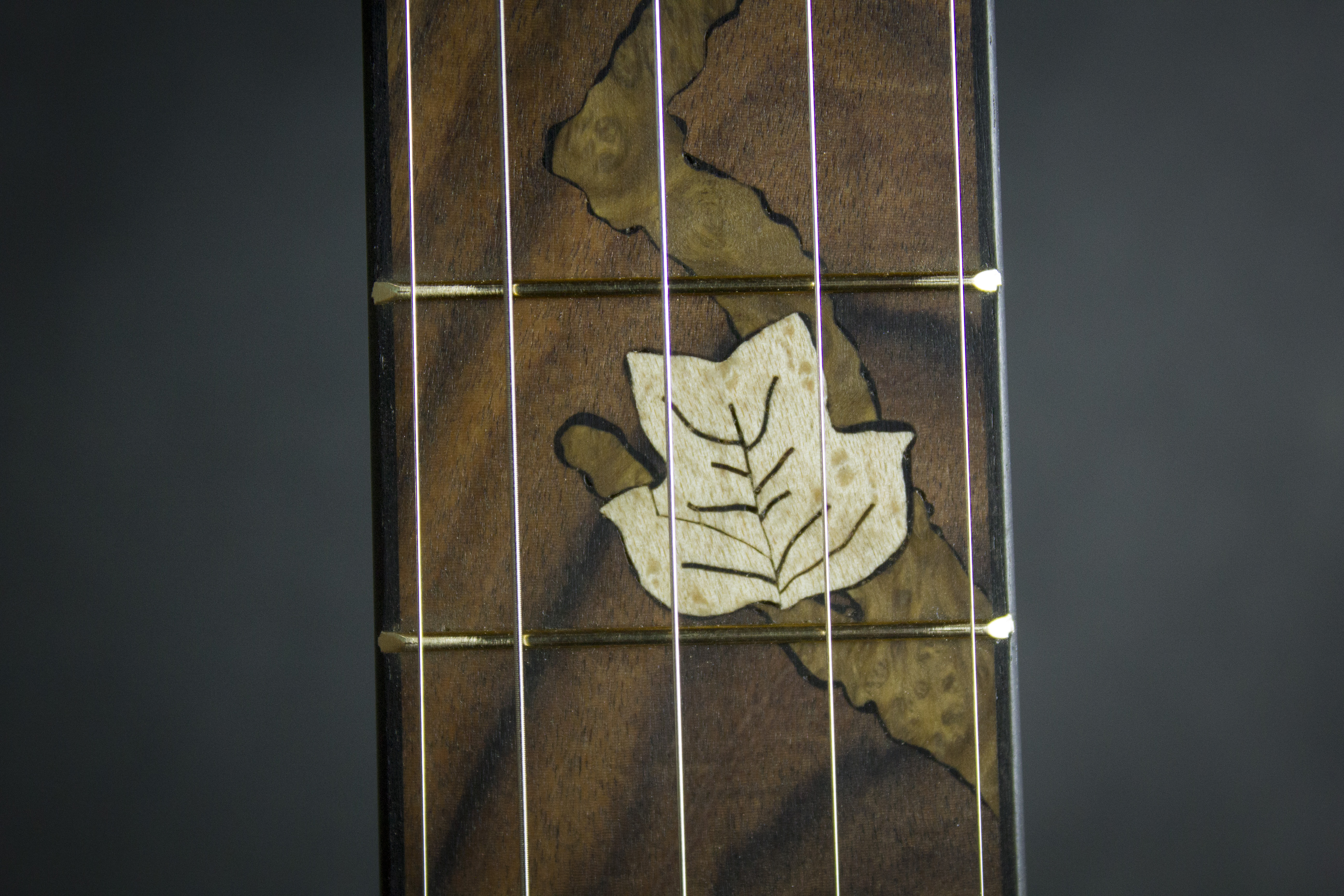 Leaves Banjo Inlay detail3