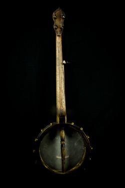 Scrimshaw Banjo - Moby Dick - Back