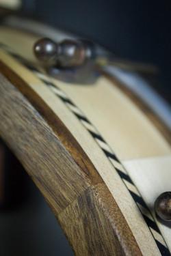 Leaves Banjo Pot detail