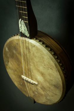 Train Banjo Inlay N Head
