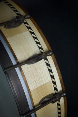 Leaves Banjo Rim Detail