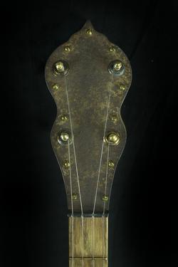 (2) Blackberry Banjo #1-headstock