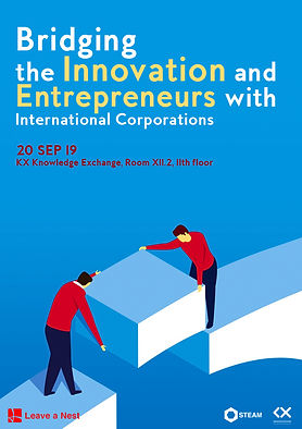 Bridging the Innovation and Entrepreneurs with International Corporations