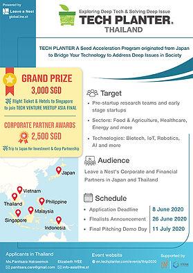 TECH PLANTER THAILAND 2020