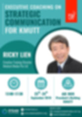 Executive Coaching on Strategic Communication for KMUTT