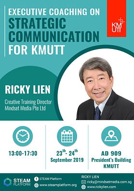 Executive Coaching on Strategic Communication for KMUTT