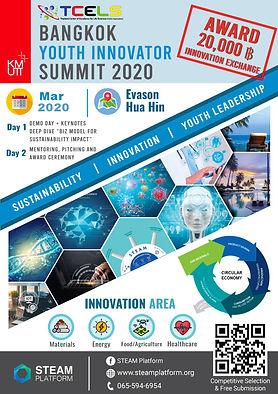Bangkok Youth Innovator Summit 2020