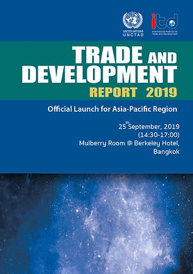 UNCTAD's Trade and Development Report 2019