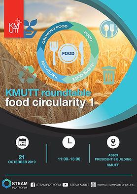 """KMUTT Roundtable 1 """"Food Circularity"""""""