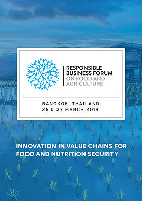 Responsible Business Forum on Food & Agriculture 2019