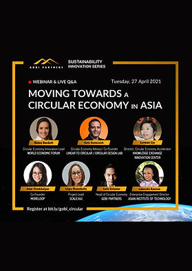SUSTAINABILITY INNOVATION SERIES | Moving Towards a Circular Economy in Asia