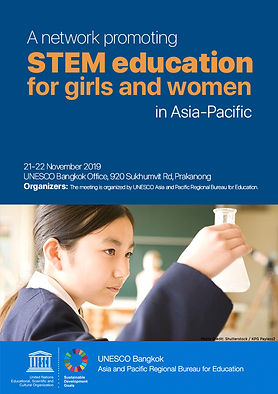 A network promoting STEM education for girls and women in Asia-Pacific
