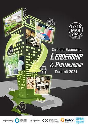 Circular Economy Leadership & Partnership Summit 2021 by STEAM Platform