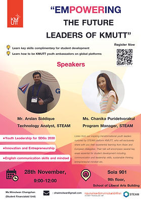 Empowering the Future Leaders of KMUTT