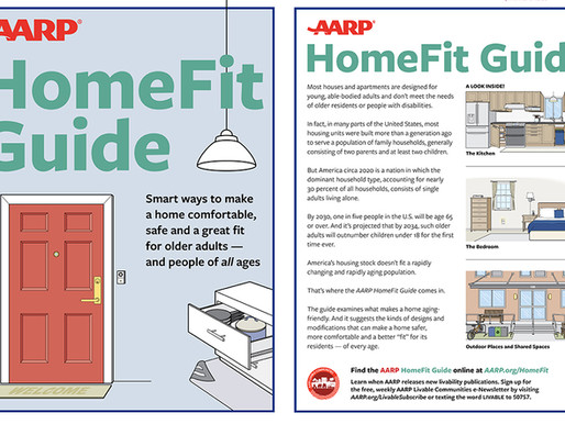 Free Publication - AARP HomeFit Guide
