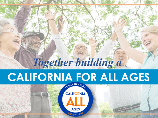 Press Release: California Releases First-Ever Master Plan for Aging