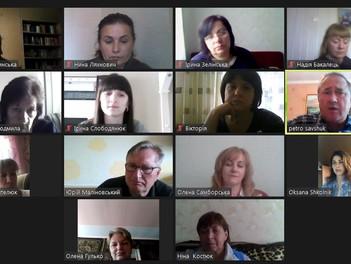 Онлайн-нарада кураторів студентських груп першого і другого курсів