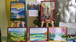 Запрошуємо відвідати виставку живописних робіт