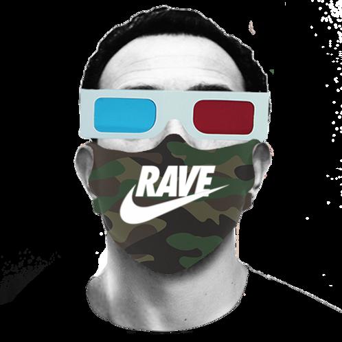 Rave Camo Mask