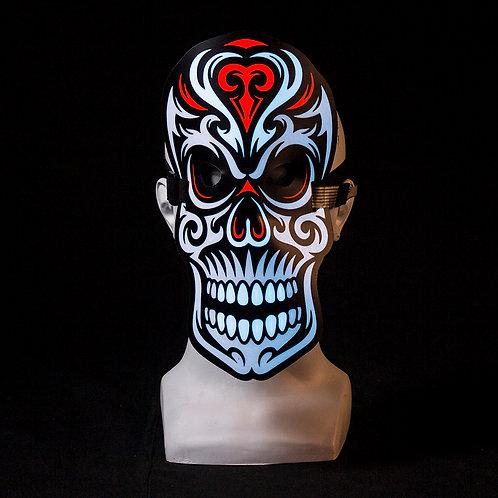 Skull LED mask Music Reactive