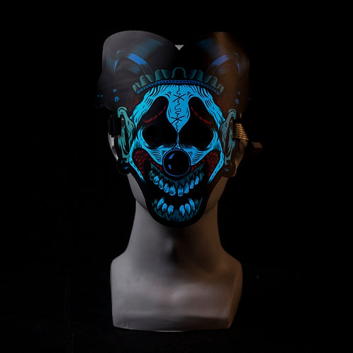 Clown LED mask Music Reactive