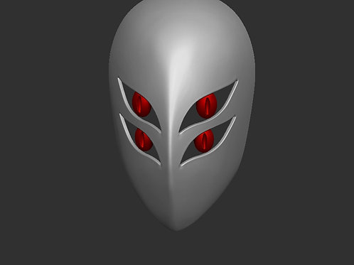 MeMeMe Mask 3D Model STL ready to Print